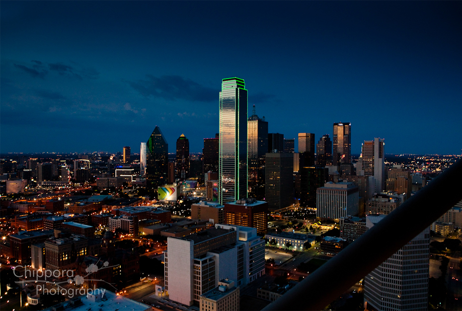 Reunion Tower Observation Deck Dallas Architectural